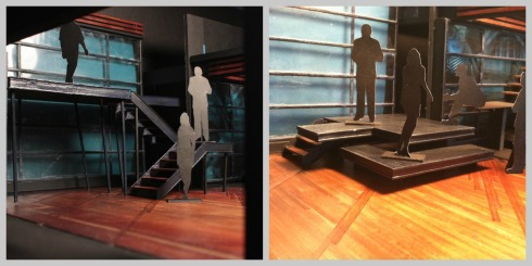 Next to Normal scenic design